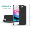 Nillkin Apple iPhone 8 hátlap - Nillkin Synthetic Fiber - fekete