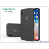 Nillkin Apple iPhone X hátlap képernyővédő fóliával - Nillkin Frosted Shield Logo - fekete