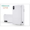 Nillkin Apple iPhone X oldalra nyíló flipes tok - Nillkin Qin - fehér