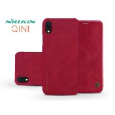 Nillkin Apple iPhone XR oldalra nyíló flipes tok - Nillkin Qin - piros tok és táska