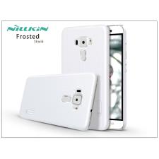 Nillkin Asus ZenFone 3 (ZE552KL) hátlap képernyővédő fóliával - Nillkin Frosted Shield - fehér tok és táska