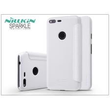Nillkin Google Pixel oldalra nyíló flipes tok - Nillkin Sparkle - fehér tok és táska