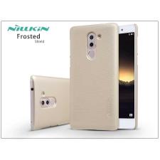 Nillkin Huawei/Honor 6X/Huawei Mate 9 Lite hátlap képernyővédő fóliával - Nillkin Frosted Shield - gold tok és táska