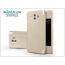Nillkin Huawei Mate 10 oldalra nyíló flipes tok - Nillkin Sparkle - gold tok és táska
