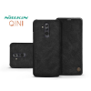 Nillkin Huawei Mate 20 Lite oldalra nyíló flipes tok - Nillkin Qin - fekete