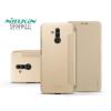 Nillkin Huawei Mate 20 Lite oldalra nyíló flipes tok - Nillkin Sparkle - gold