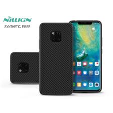 Nillkin Huawei Mate 20 Pro hátlap - Nillkin Synthetic Fiber - fekete tok és táska
