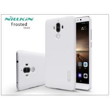 Nillkin Huawei Mate 9 hátlap képernyővédő fóliával - Nillkin Frosted Shield - fehér tok és táska