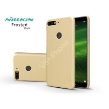 Nillkin Huawei Y7 (2018)/Huawei Y7 Prime (2018) hátlap képernyővédő fóliával - Nillkin Frosted Shield - gold tok és táska