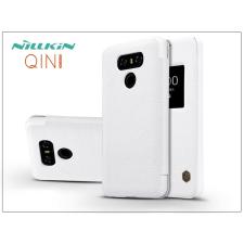 Nillkin LG G6 H870 oldalra nyíló flipes tok - Nillkin Qin - fehér tok és táska