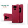 Nillkin LG G6 H870 oldalra nyíló flipes tok - Nillkin Qin - piros