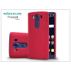 Nillkin LG V10 H960A hátlap képernyővédő fóliával - Nillkin Frosted Shield - piros