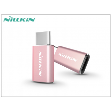 Nillkin Micro USB - USB Type-C adapter - Nillkin Micro to Type-C USB 2.0 - pink