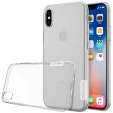 Nillkin Nature TPU tok telefontok hátlap Gel Ultravékony Cover iPhone XS / X átlátszó tok és táska