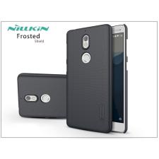 Nillkin Nokia 7 hátlap képernyővédő fóliával - Nillkin Frosted Shield - fekete tok és táska