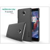 Nillkin OnePlus 3 (A3000)/OnePlus 3T (A3010) hátlap képernyővédő fóliával - Nillkin Frosted Shield - fekete