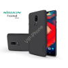 Nillkin OnePlus 6 (A6000) hátlap képernyővédő fóliával - Nillkin Frosted Shield - fekete
