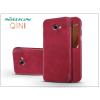 Nillkin Samsung A320F Galaxy A3 (2017) oldalra nyíló flipes tok - Nillkin Qin - piros