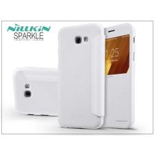 Nillkin Samsung A320F Galaxy A3 (2017) oldalra nyíló flipes tok - Nillkin Sparkle - fehér tok és táska