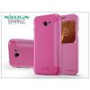 Nillkin Samsung A320F Galaxy A3 (2017) oldalra nyíló flipes tok - Nillkin Sparkle - pink