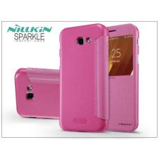 Nillkin Samsung A320F Galaxy A3 (2017) oldalra nyíló flipes tok - Nillkin Sparkle - pink tok és táska