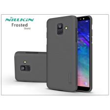 Nillkin Samsung A600F Galaxy A6 (2018) hátlap - Nillkin Frosted Shield - fekete tok és táska