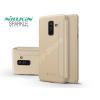 Nillkin Samsung A605 Galaxy A6 Plus (2018) oldalra nyíló flipes tok - Nillkin Sparkle - gold