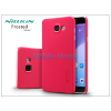 Nillkin Samsung A710F Galaxy A7 (2016) hátlap képernyővédő fóliával - Nillkin Frosted Shield - piros