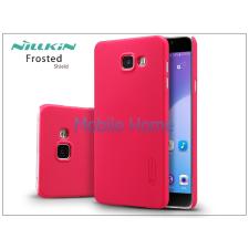 Nillkin Samsung A710F Galaxy A7 (2016) hátlap képernyővédő fóliával - Nillkin Frosted Shield - piros tok és táska