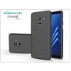 Nillkin Samsung A730F Galaxy A8 Plus (2018) hátlap képernyővédő fóliával - Nillkin Frosted Shield - fekete