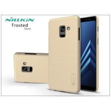 Nillkin Samsung A730F Galaxy A8 Plus (2018) hátlap képernyővédő fóliával - Nillkin Frosted Shield - gold tok és táska