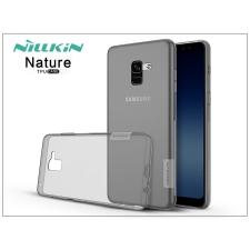 Nillkin Samsung A730F Galaxy A8 Plus (2018) szilikon hátlap - Nillkin Nature - szürke tok és táska
