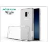 Nillkin Samsung A730F Galaxy A8 Plus (2018) szilikon hátlap - Nillkin Nature - transparent