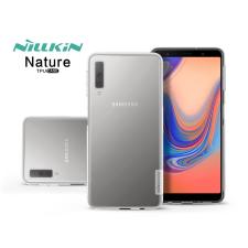 Nillkin Samsung A750F Galaxy A7 (2018) szilikon hátlap - Nillkin Nature - transparent tok és táska