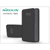 Nillkin Samsung G950F Galaxy S8 hátlap - Nillkin Synthetic Fiber - fekete