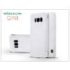 Nillkin Samsung G950F Galaxy S8 oldalra nyíló flipes tok - Nillkin Qin - fehér