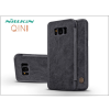 Nillkin Samsung G950F Galaxy S8 oldalra nyíló flipes tok - Nillkin Qin - fekete