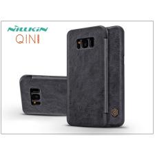 Nillkin Samsung G950F Galaxy S8 oldalra nyíló flipes tok - Nillkin Qin - fekete tok és táska