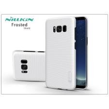 Nillkin Samsung G955F Galaxy S8 Plus hátlap képernyővédő fóliával - Nillkin Frosted Shield - fehér tok és táska