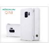 Nillkin Samsung G960F Galaxy S9 oldalra nyíló flipes tok - Nillkin Qin - fehér