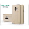 Nillkin Samsung G960F Galaxy S9 oldalra nyíló flipes tok - Nillkin Sparkle - gold