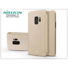 Nillkin Samsung G960F Galaxy S9 oldalra nyíló flipes tok - Nillkin Sparkle - gold tok és táska