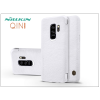 Nillkin Samsung G965F Galaxy S9 Plus oldalra nyíló flipes tok - Nillkin Qin - fehér