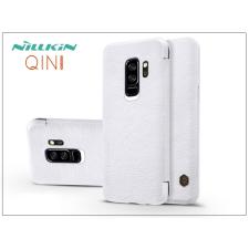 Nillkin Samsung G965F Galaxy S9 Plus oldalra nyíló flipes tok - Nillkin Qin - fehér tok és táska