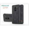 Nillkin Samsung G965F Galaxy S9 Plus oldalra nyíló flipes tok - Nillkin Qin - fekete