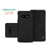 Nillkin Samsung G970U Galaxy S10e oldalra nyíló flipes tok - Nillkin Qin - fekete