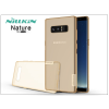 Nillkin Samsung N950F Galaxy Note 8 szilikon hátlap - Nillkin Nature - aranybarna