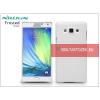 Nillkin Samsung SM-A700F Galaxy A7 hátlap képernyővédő fóliával - Nillkin Frosted Shield - fehér