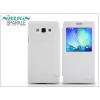 Nillkin Samsung SM-A700F Galaxy A7 oldalra nyíló flipes tok - Nillkin Sparkle - fehér