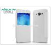 Nillkin Samsung SM-A800 Galaxy A8 oldalra nyíló flipes tok - Nillkin Sparkle - fehér